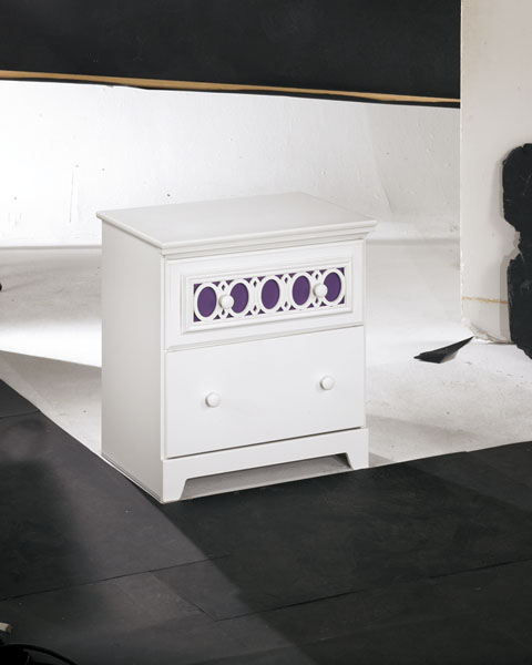 Zayley Two Drawer Night Stand great value, great price.