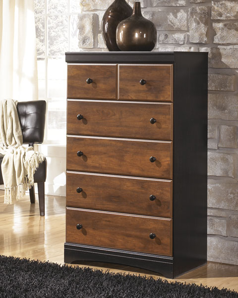 Aimwell Five Drawer Chest great value, great price.