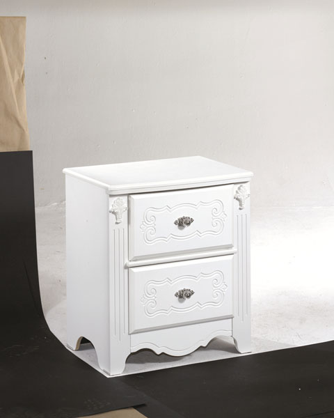 Exquisite Two Drawer Night Stand great value, great price.