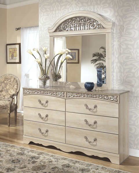 Catalina Dresser and Mirror great value, great price.