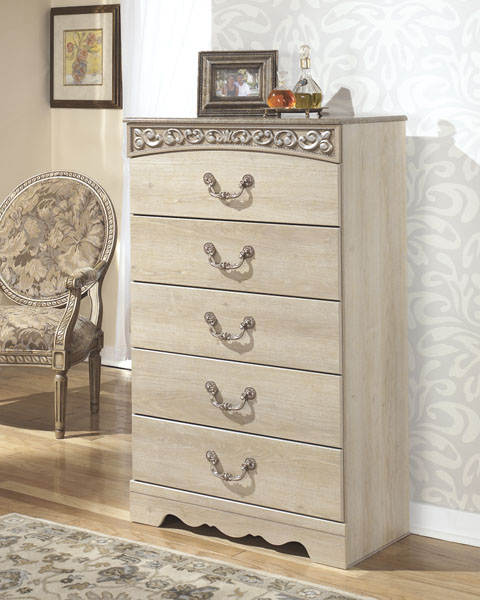 Catalina Five Drawer Chest great value, great price.
