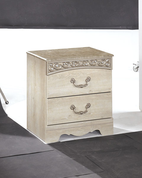 Catalina Two Drawer Night Stand great value, great price.