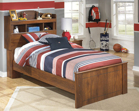 Barchan Twin Bookcase Trundle Bed great value, great price.
