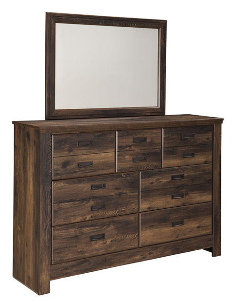Quinden Dresser and Mirror great value, great price.