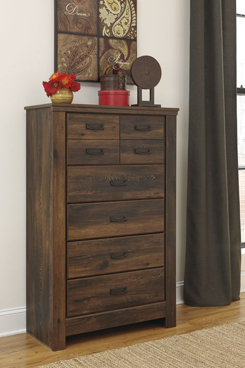 Quinden Five Drawer Chest great value, great price.