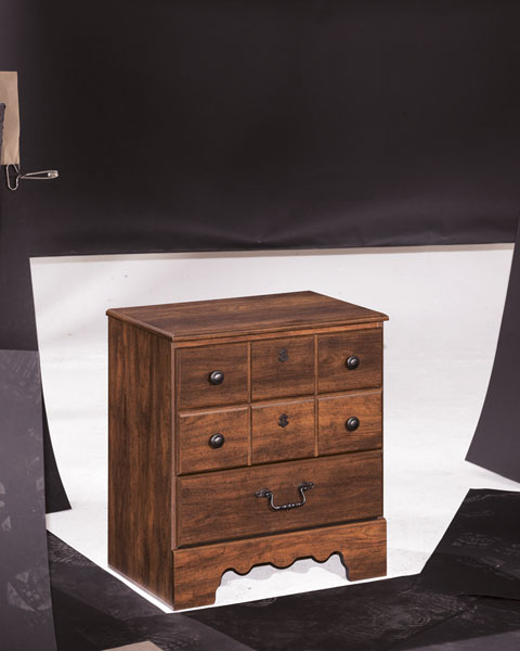 Timberline Two Drawer Night Stand great value, great price.