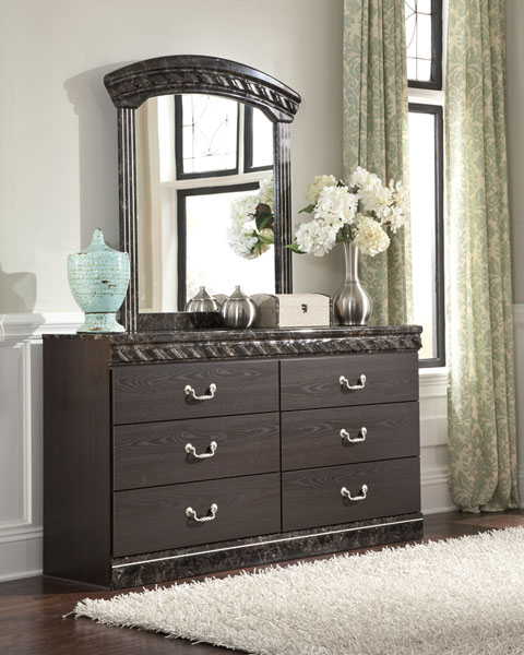 Vachel Dresser and Mirror great value, great price.
