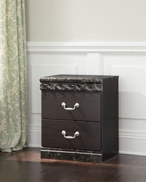 Vachel Two Drawer Night Stand great value, great price.