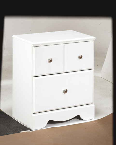Weeki Two Drawer Night Stand great value, great price.