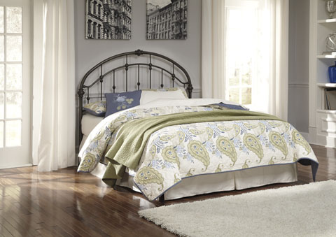 Nashburg Queen Metal Headboard great value, great price.