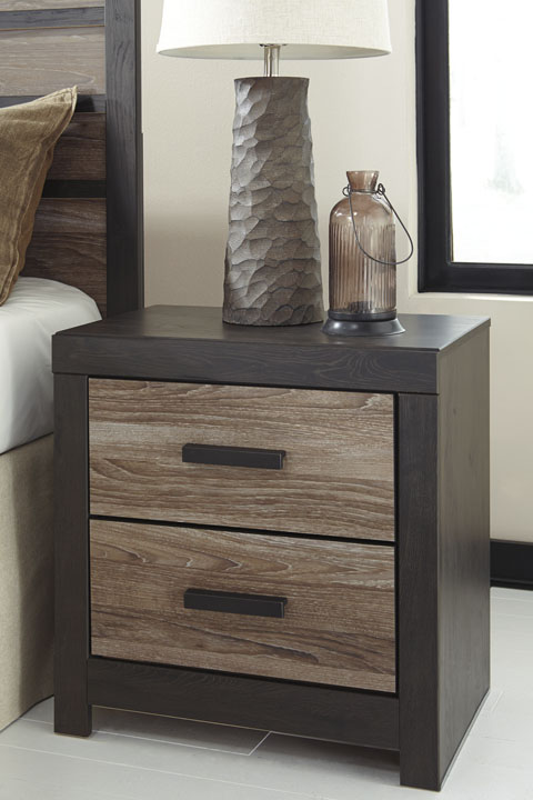 Harlinton Two Drawer Night Stand great value, great price.