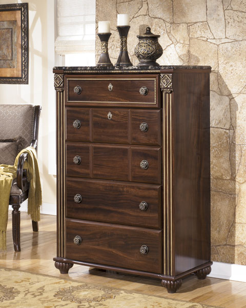 Gabriela Five Drawer Chest great value, great price.