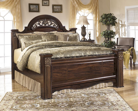 Gabriela Queen Poster Bed great value, great price.
