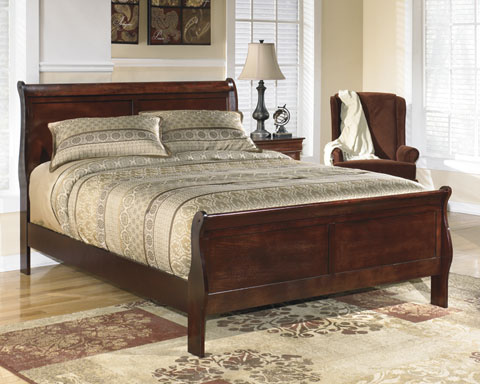 Alisdair Queen Sleigh Bed great value, great price.