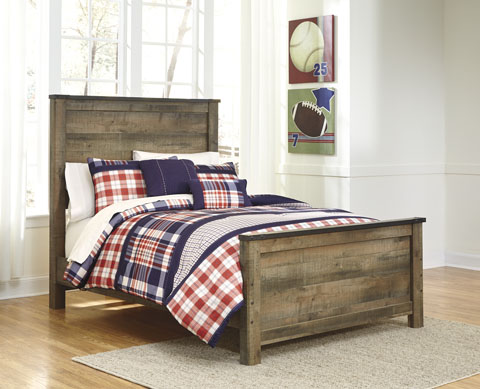 Trenton Full Panel Bed great value, great price.