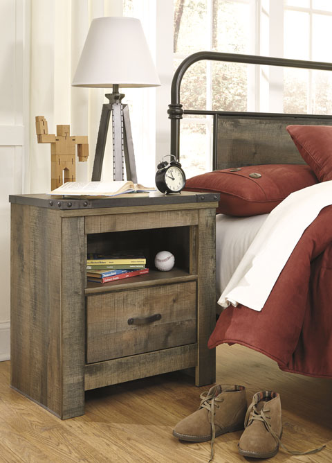 Trinell One Drawer Night Stand great value, great price.