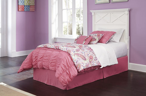 Kaslyn Twin Panel Headboard great value, great price.