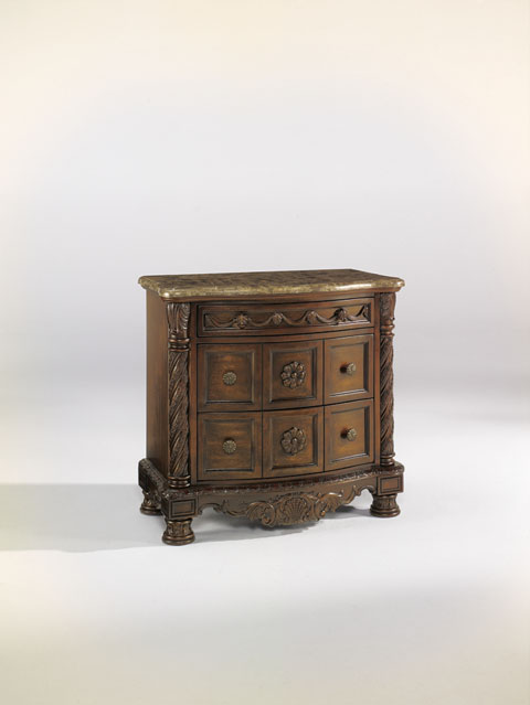 North Shore Three Drawer Night Stand great value, great price.