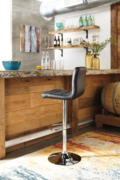 Adjustable Height Barstools Tall UPH Swivel Barstool great value, great price.