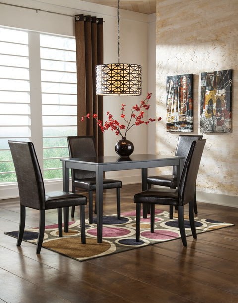 Kimonte Rectangular Table With 4 Chairs great value, great price.