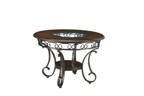Glambrey Round Dining Room Table great value, great price.