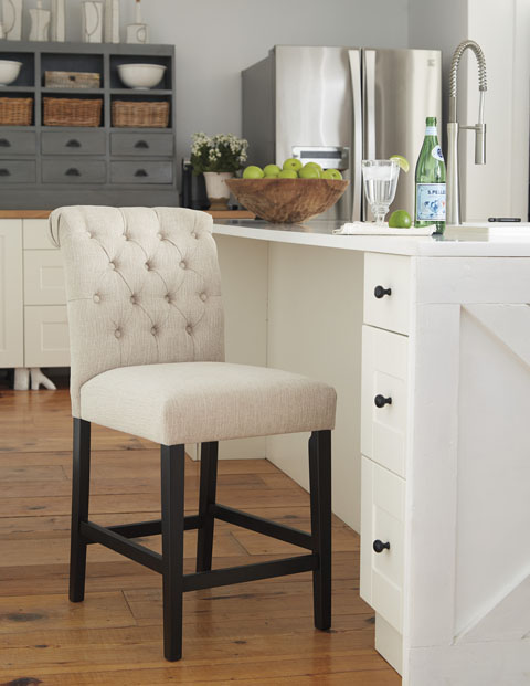 Tripton Upholstered Barstool great value, great price.