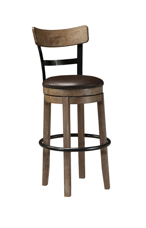 Pinnadel Tall UPH Swivel Barstool(1/CN) great value, great price.