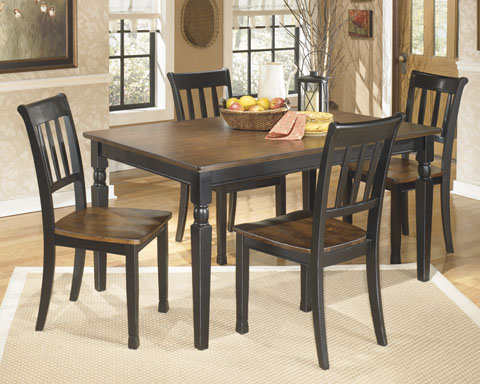 Owingsville Rectangular Table With 4 Chairs great value, great price.