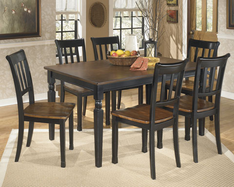 Owingsville Rectangular Table With 6 Chairs great value, great price.