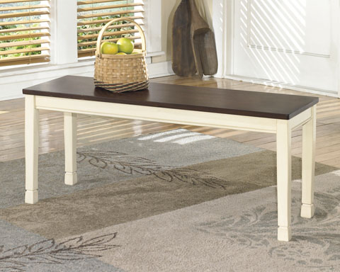 Whitesburg Large Dining Room Bench great value, great price.