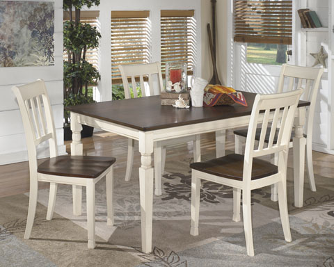 Whitesburg Rectangular Table With 4 Chairs great value, great price.