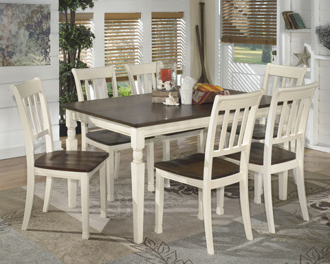 Whitesburg Rectangular Table With 6 Chairs great value, great price.