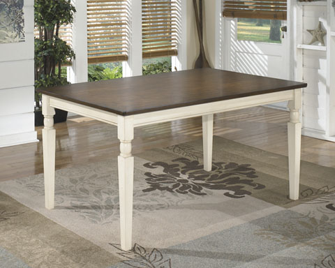 Whitesburg Rectangular Dining Room Table great value, great price.