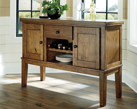 Flaybern Dining Room Server great value, great price.