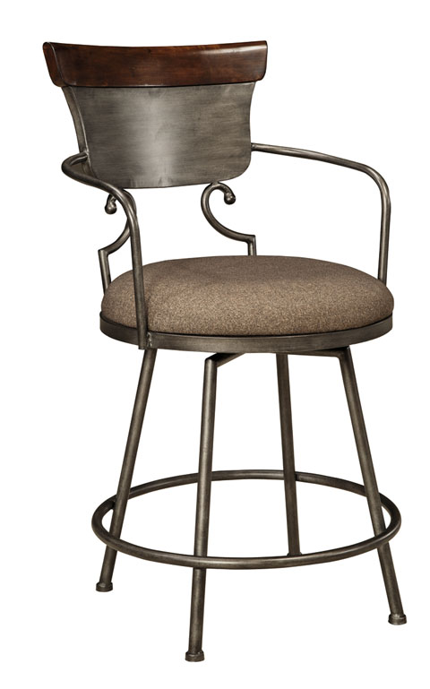 Moriann Upholstered Barstool (1/CN) great value, great price.