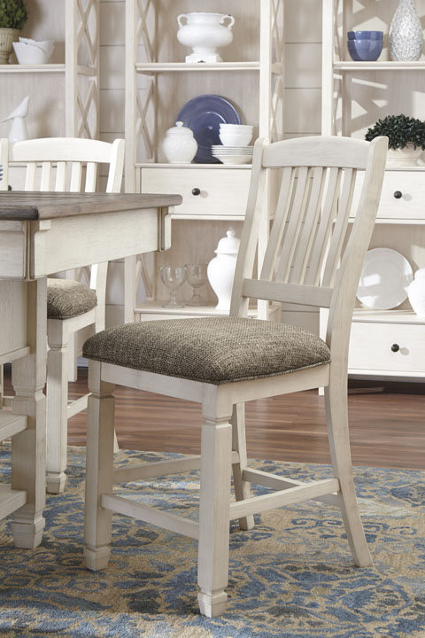 Bolanburg Upholstered Barstool great value, great price.