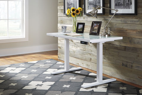 Baraga Adjustable Height Desk great value, great price.