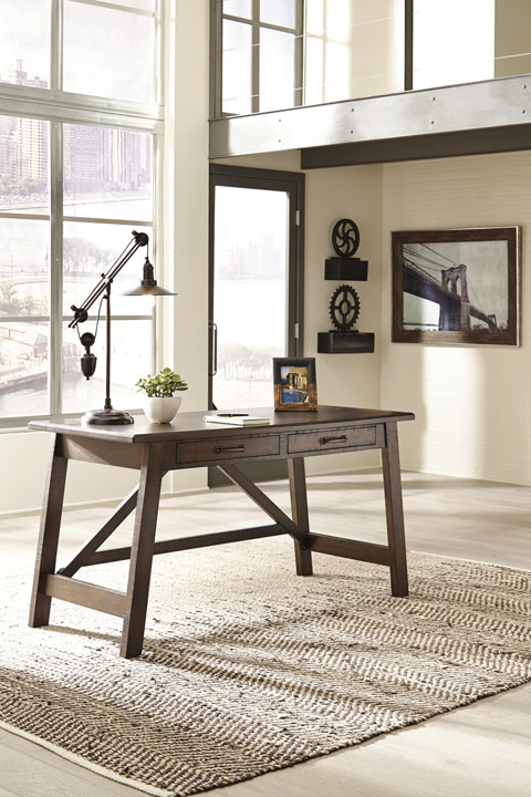 Baldridge Home Office Large Leg Desk great value, great price.