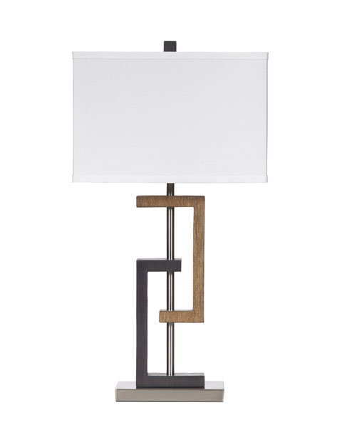 Syler Poly Table Lamp (2/CN) great value, great price.