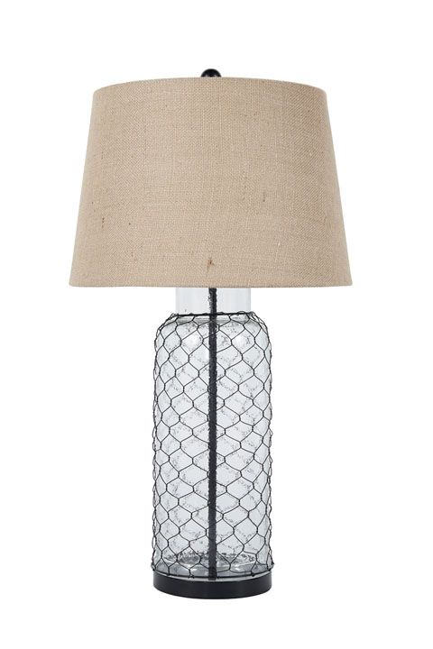 Sharmayne Glass Table Lamp (1/CN) great value, great price.