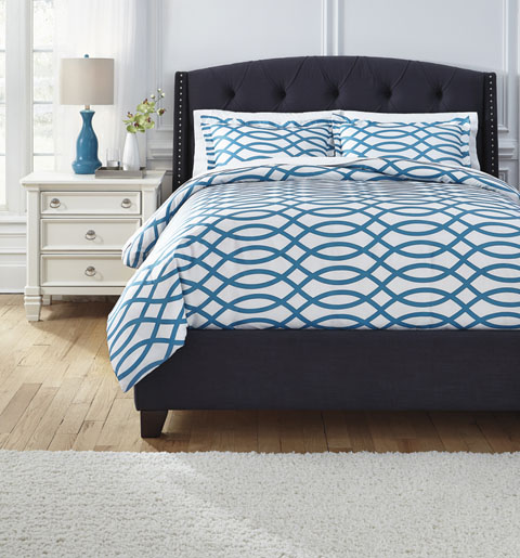 Leander Queen Duvet Cover Set great value, great price.