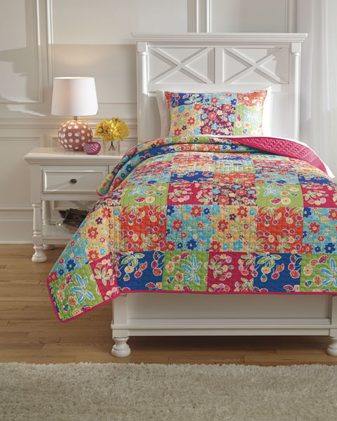 Belle Chase Twin Quilt Set great value, great price.
