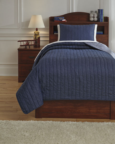 Capella Twin Quilt Set great value, great price.
