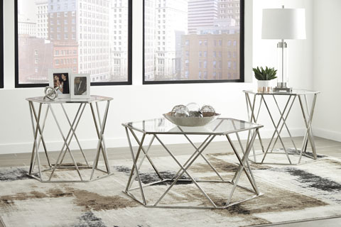Madanere Occasional Table Set great value, great price.