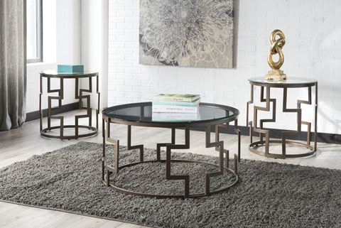 Frostine Occasional Table Set (3/CN) great value, great price.