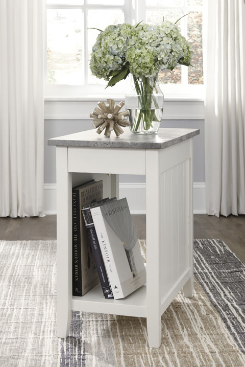 Diamenton Chair Side End Table great value, great price.