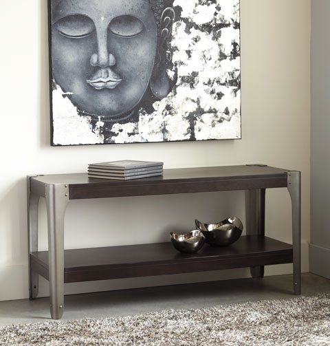 Geriville Sofa Console Table great value, great price.