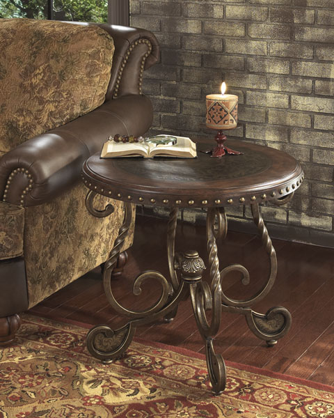 Rafferty Round End Table great value, great price.