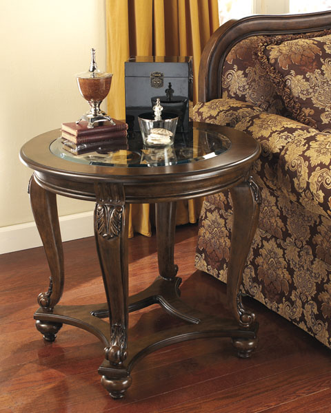 Norcastle Round End Table great value, great price.