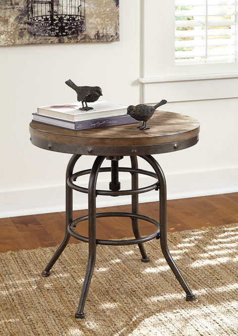 Vennilux Round End Table great value, great price.